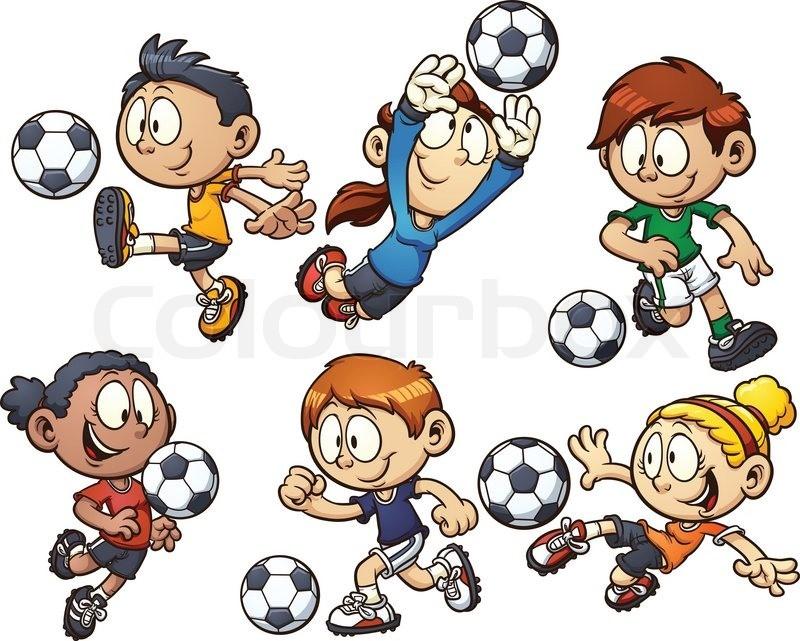 Fotballbilde barn