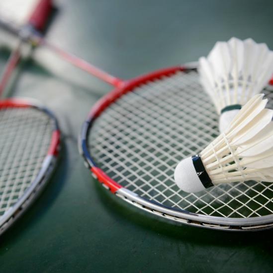 Skjermbilde badminton